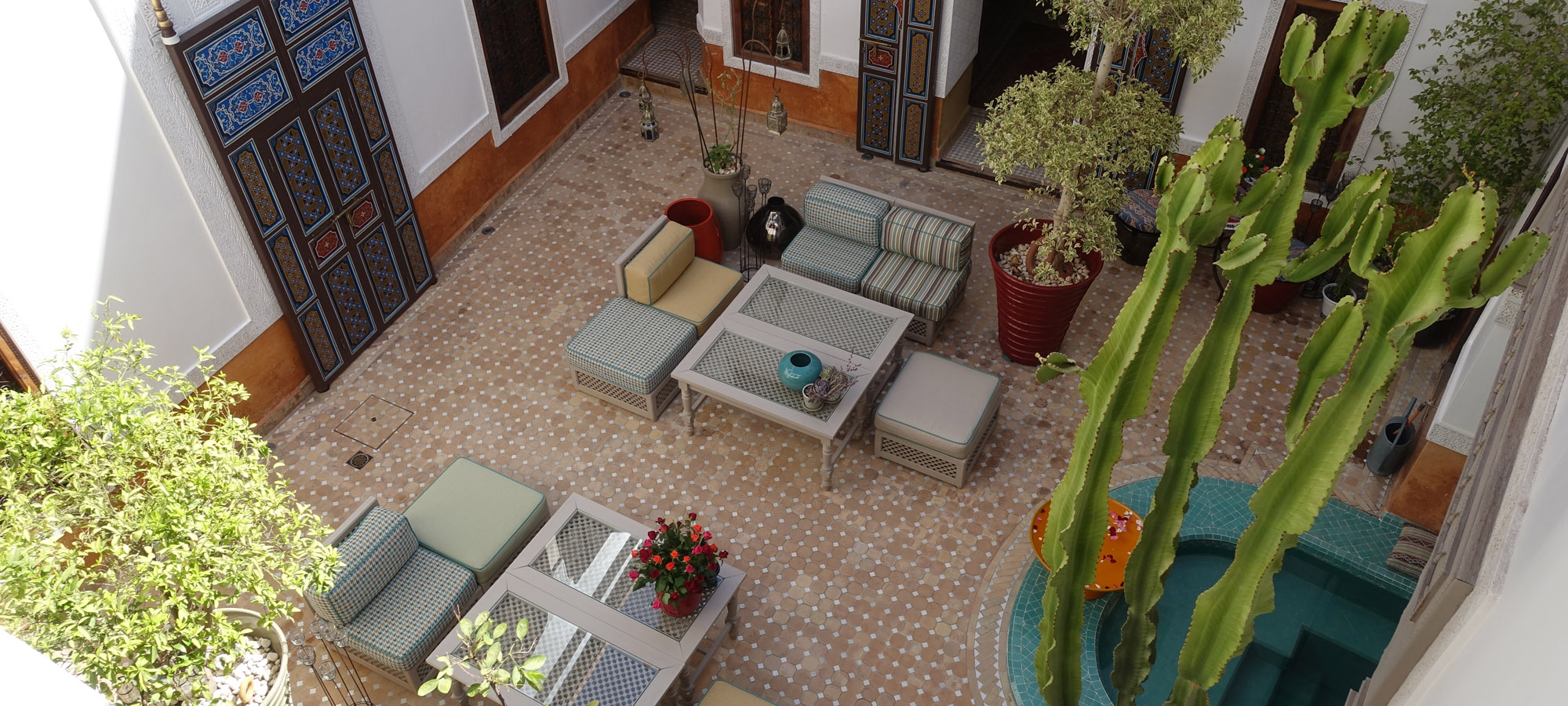7. Gallery Riad Courtyard