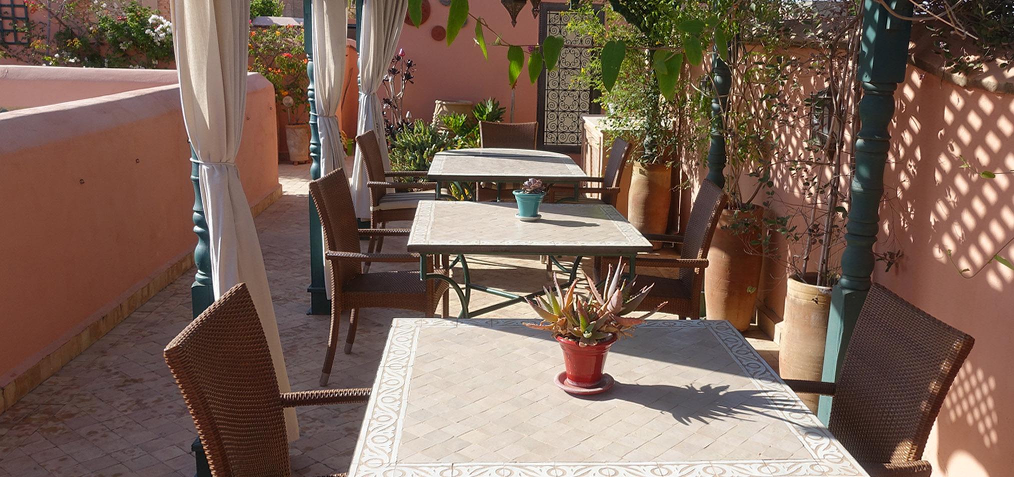 4. Gallery Terrace Breakfast Area