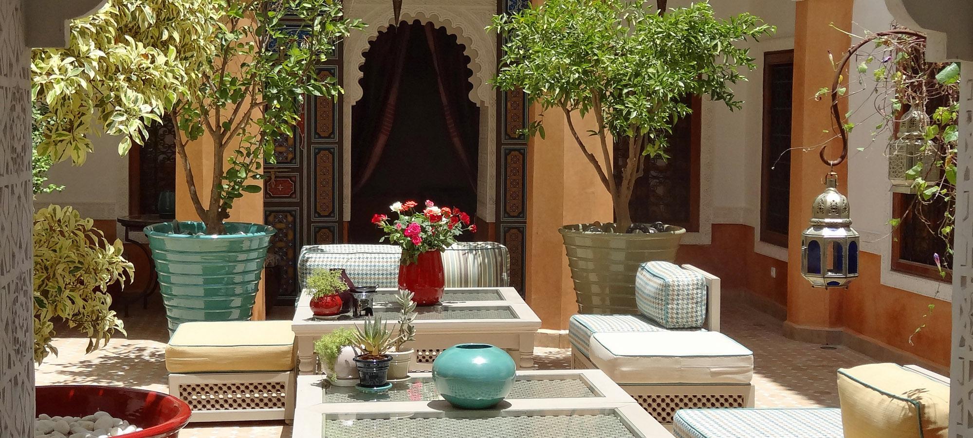 1. Home Courtyard