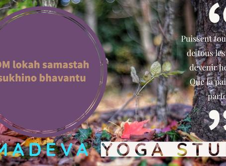 Mantra: OM Lokah samastah sukhino bhavantu