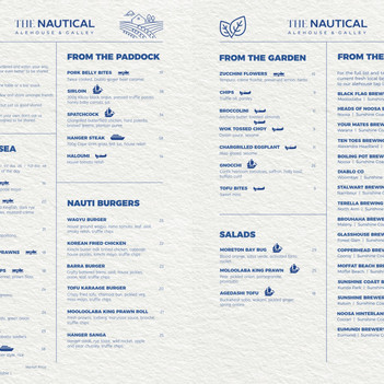 New Menu for Cooler Weather