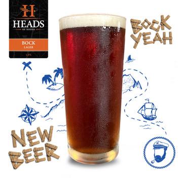 new beer on tap - heads of noosa 'bock'