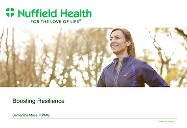 Nuffield Health Portfolio