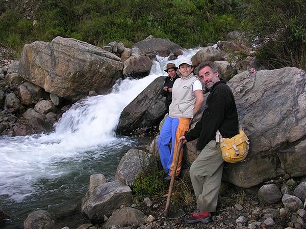 La cordada en el rio