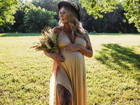 Model Call Results - Reclamation Dress Maternity Session