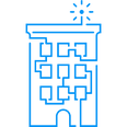 Blue Building Transparent - 706x706.png