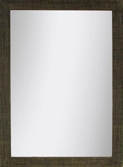 Espejo Raffia Oscura 110x80