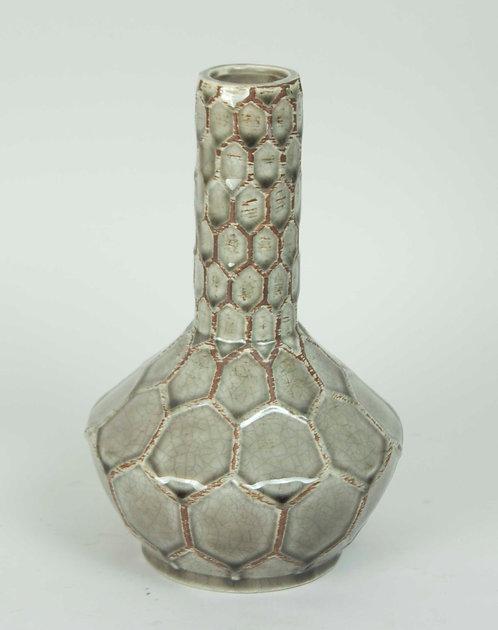 Florero Ceramica Cuello Grande 26x13