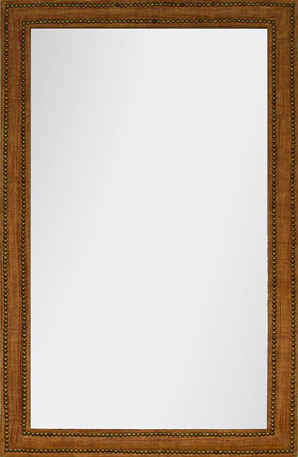 Espejo Raffia Colorina tachoneada105x68