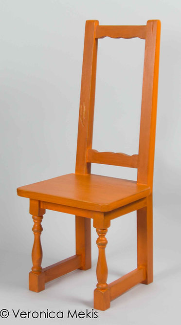Silla Veronica - Naranja s/ranuras