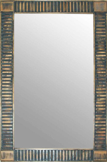 Espejo Rallas Azul 1,10X0,70