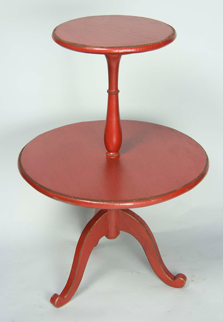 Mesa Disco Roja 70x48