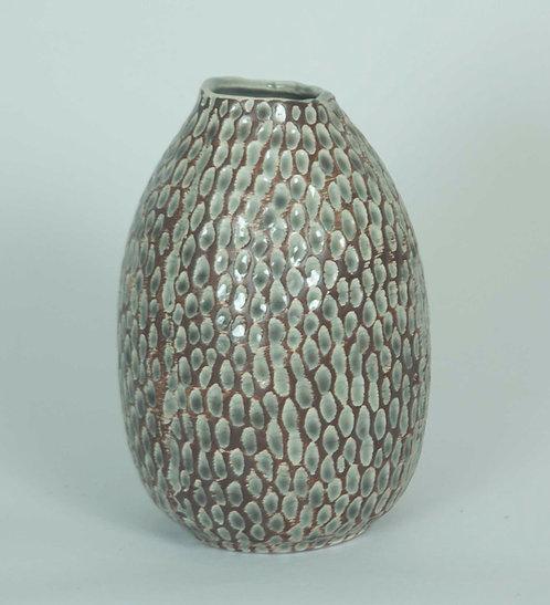 Florero Ceramica  20alto x 12 ancho