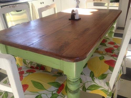 Mesa de Comedor Vintage Rauli 1,55x80x75