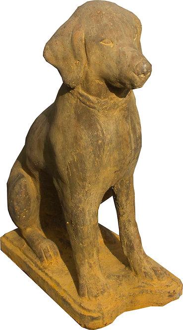 Perro Cemento Terracota 55x35