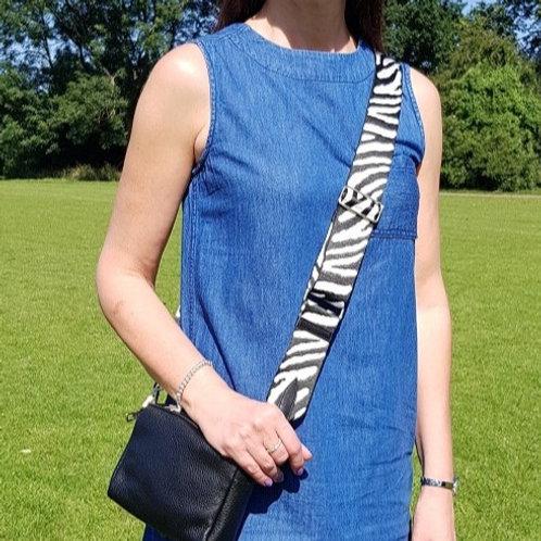 Zebra Print Adjustable Bag Strap