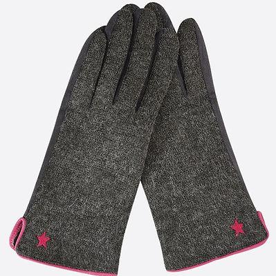 Dark grey gloves with embroidered star 2.jpg