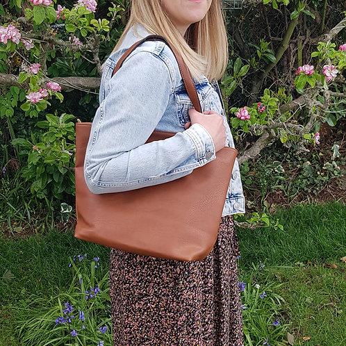 Lara Shopper Bag - Brown