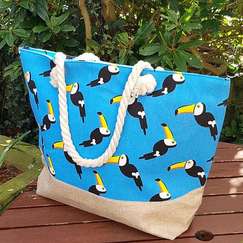 Toucan Beach Bag