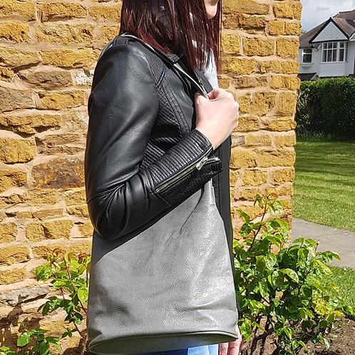 Jessica Shoulder Bag - Grey