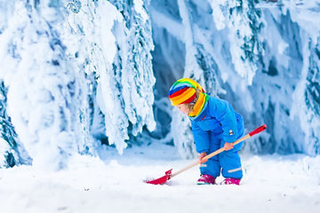 Little Girl Playing With Snow In Winter.jpg