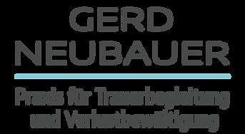 Gerd Neubauer, MSc Trauerbegleitung Trauerhilfe Trauerbewältigung