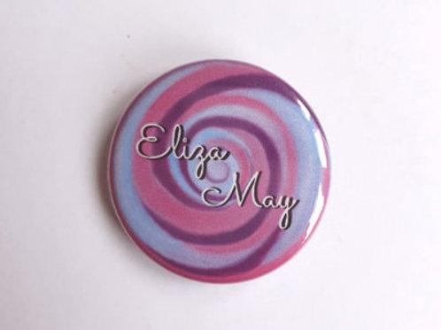 """""""Eliza May"""" Badge"""