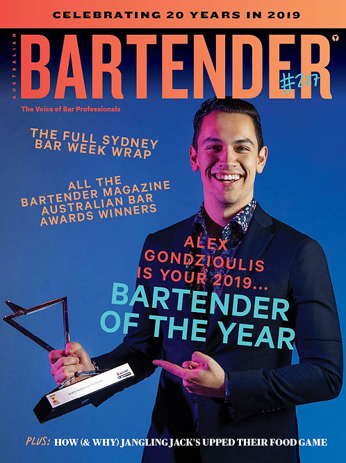 Bartender Magazine 1 Year Subscription - tobacco (Australia only)