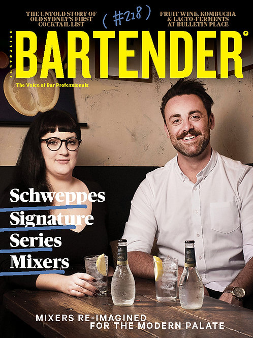 Bartender Magazine 1 Year Subscription (Australia only)