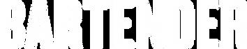 2017 Bartender Logo transparent negative