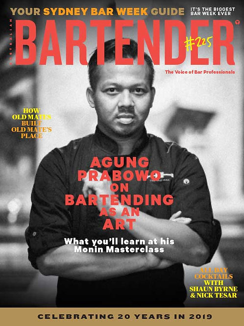 Bartender Magazine 1 Year Subscription - International