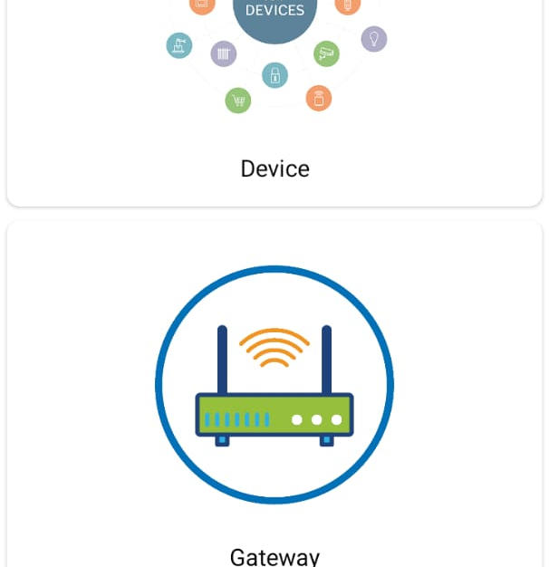 Android Based Wireless IoT Device Management Application