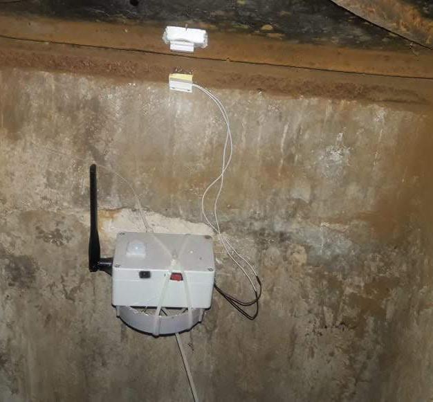 Manhole Monitoring POC with magnetic sensors and PIR sensor Intrusion detection