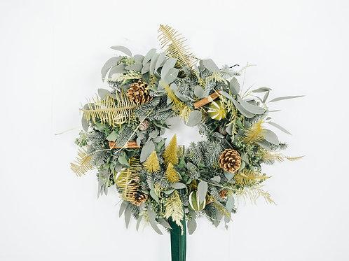 """Oh Christmas Tree"" Wreath"