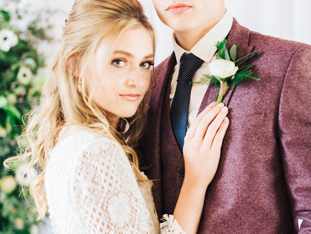 Bring The Outside In - Styled Shoot