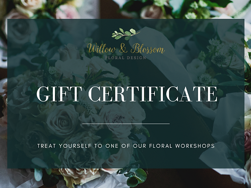 Workshop Gift Voucher £45