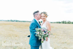 rustic wedding flowers at bassmead manor barns