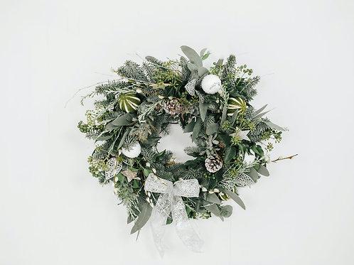 """A Winter's Night"" Christmas Wreath"