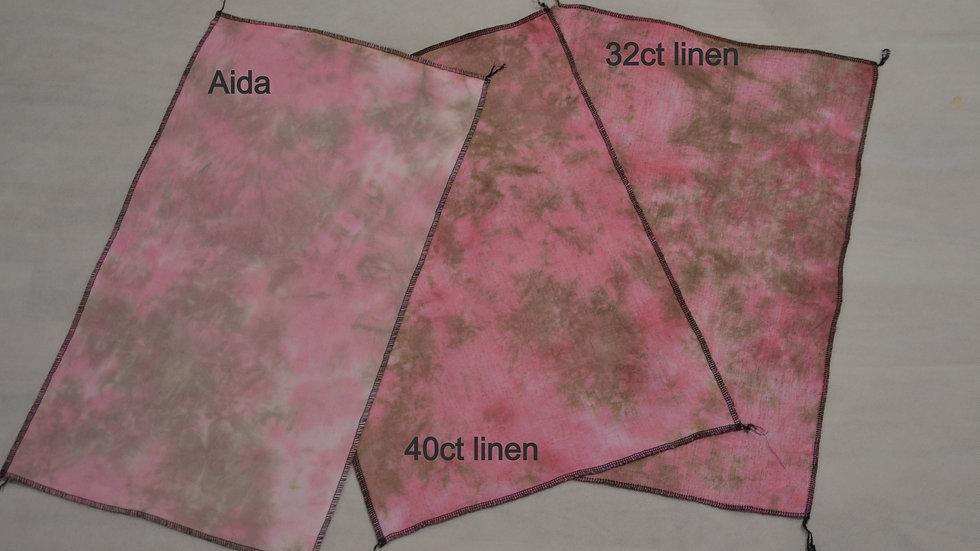 Old Red Ute - 32 count Belfast Linen