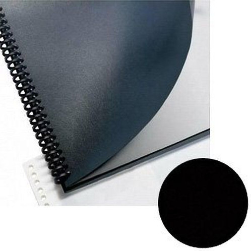 Sircle Leatherette Binding Covers 15 Pt Black 8 5 Quot X