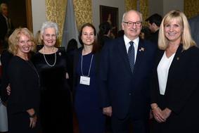 Queen Elizabeth Scholar Justine Dol Presents at Government House