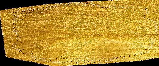 Brushstroke of Gold Paint