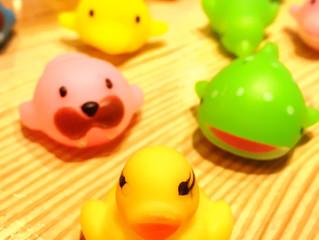 お風呂のおもちゃ♪