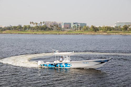 "37"" SPORT FISHING BOAT"