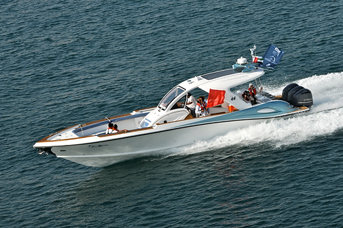 "44"" SPORT FISHING BOAT"