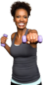 Jeremy Hall Personal Trainer - North Carolina  Train Like A Monster - Female work out - weights