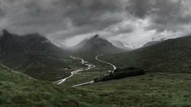 Vallée de Glencoe / Glencoe Valley, Scotland