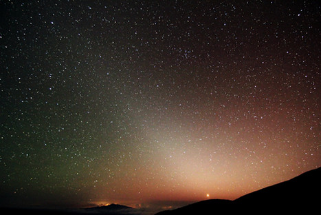 Lumière zodiacale / Zodiacal light, Mauna Kea, Hawai