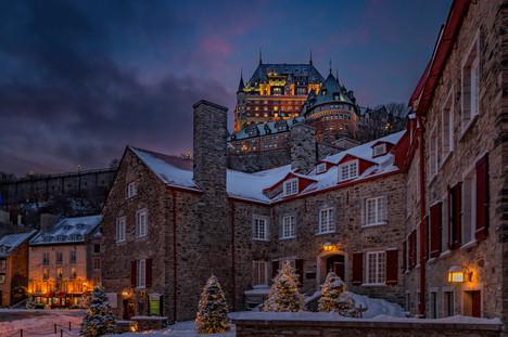 Ville de Québec / Quebec City, Canada.