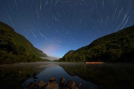 Filée d'étoiles / Star trails